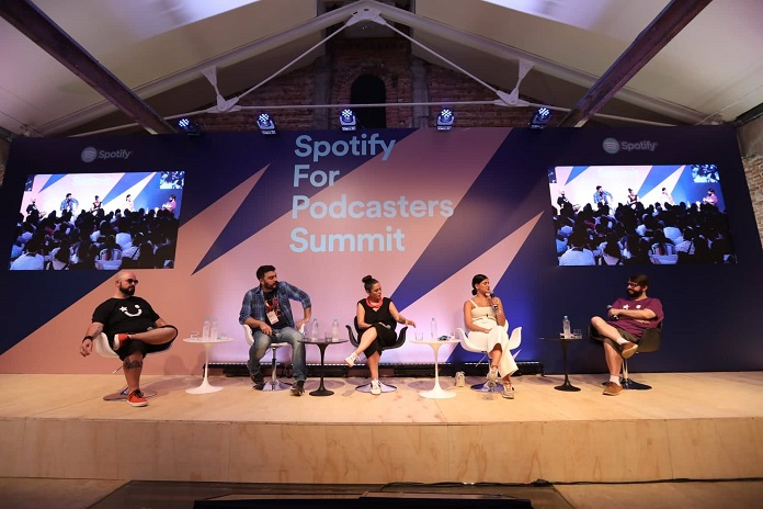 O evento 'Spotify For Podcasters Summit'