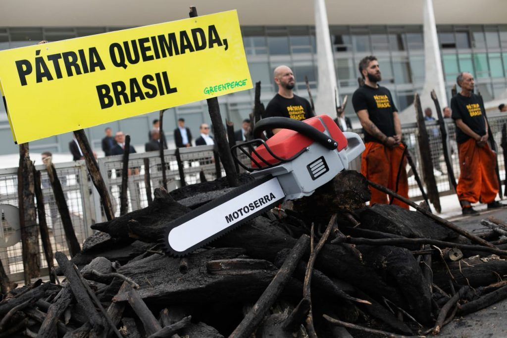 Protesto do Greenpeace